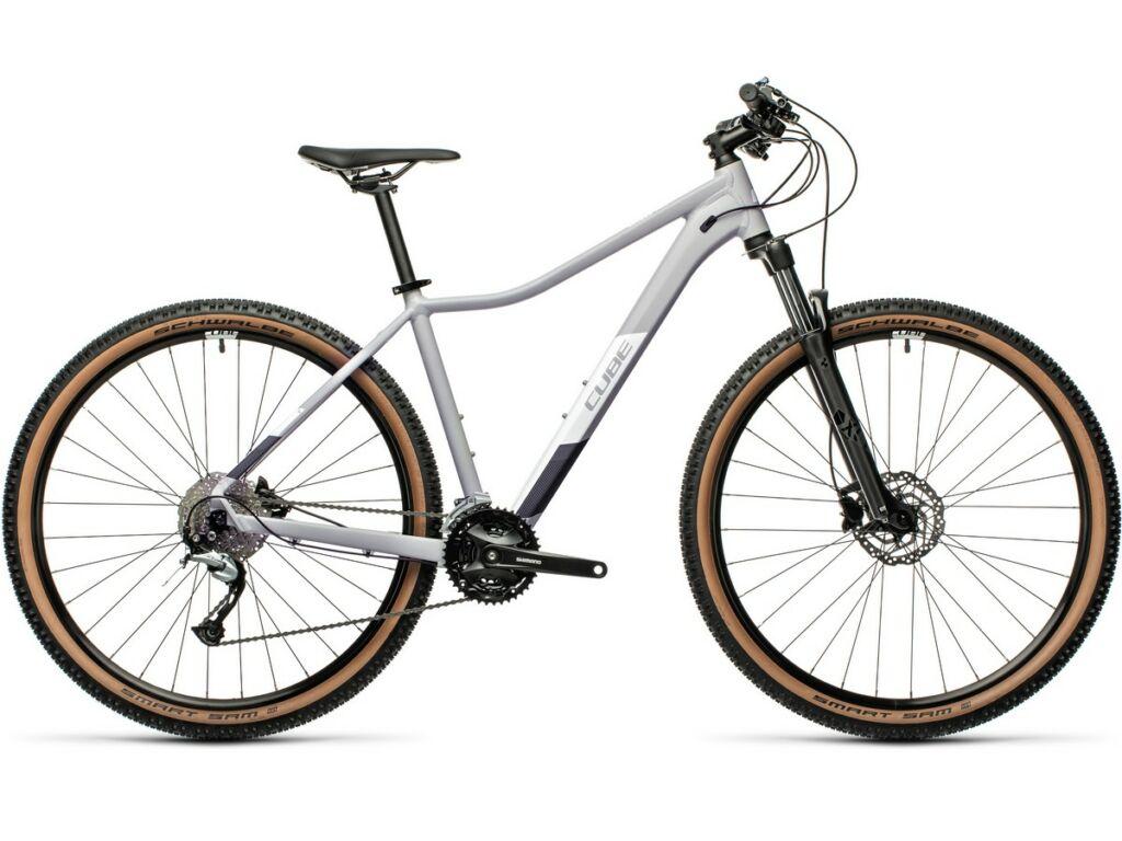 """Cube Access WS Pro 2021 27.5"""" női MTB kerékpár, grey'n'white"""