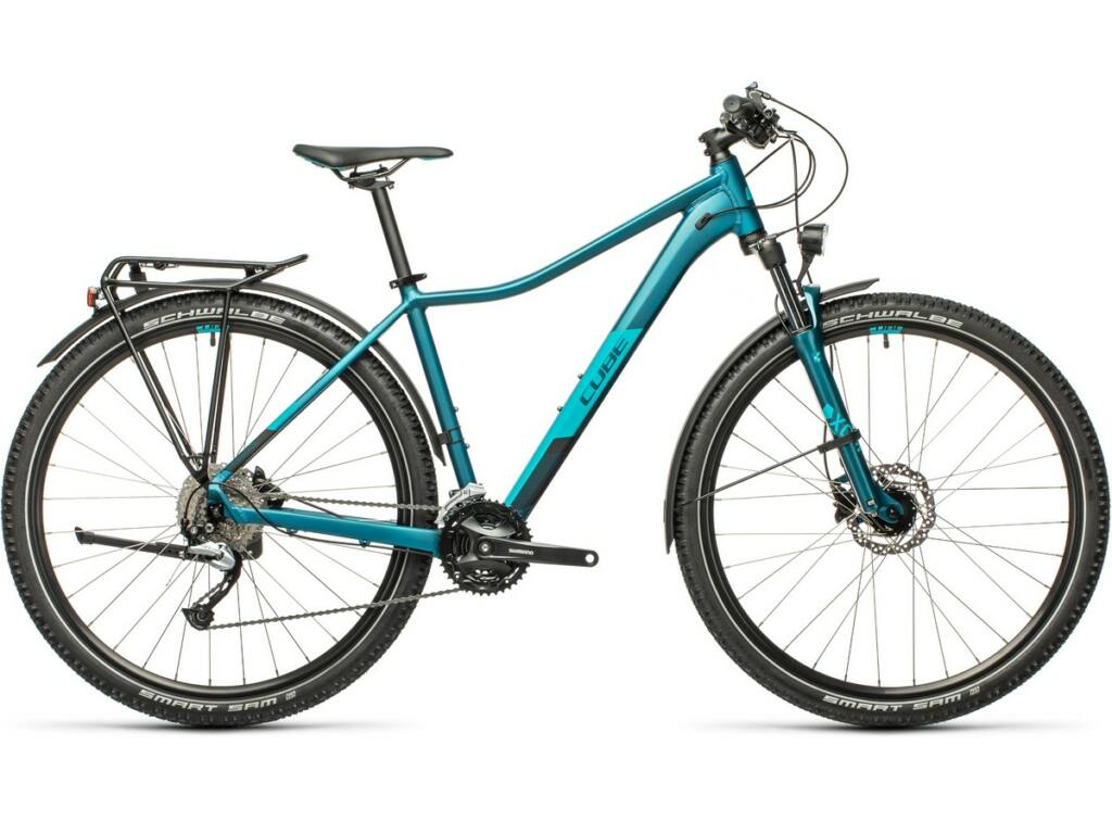 """Cube Access WS Pro Allroad 2021 27.5"""" női MTB kerékpár, stoneblue'n'blue"""