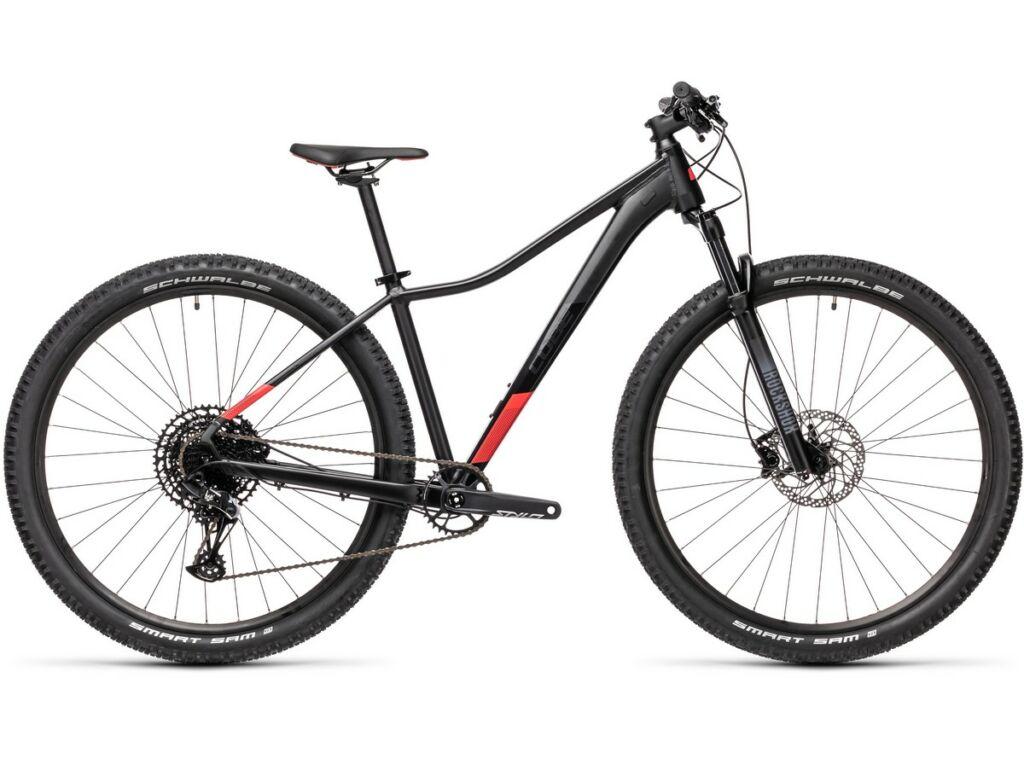 """Cube Access WS SL 2021 27.5"""" női MTB kerékpár, black'n'coral"""