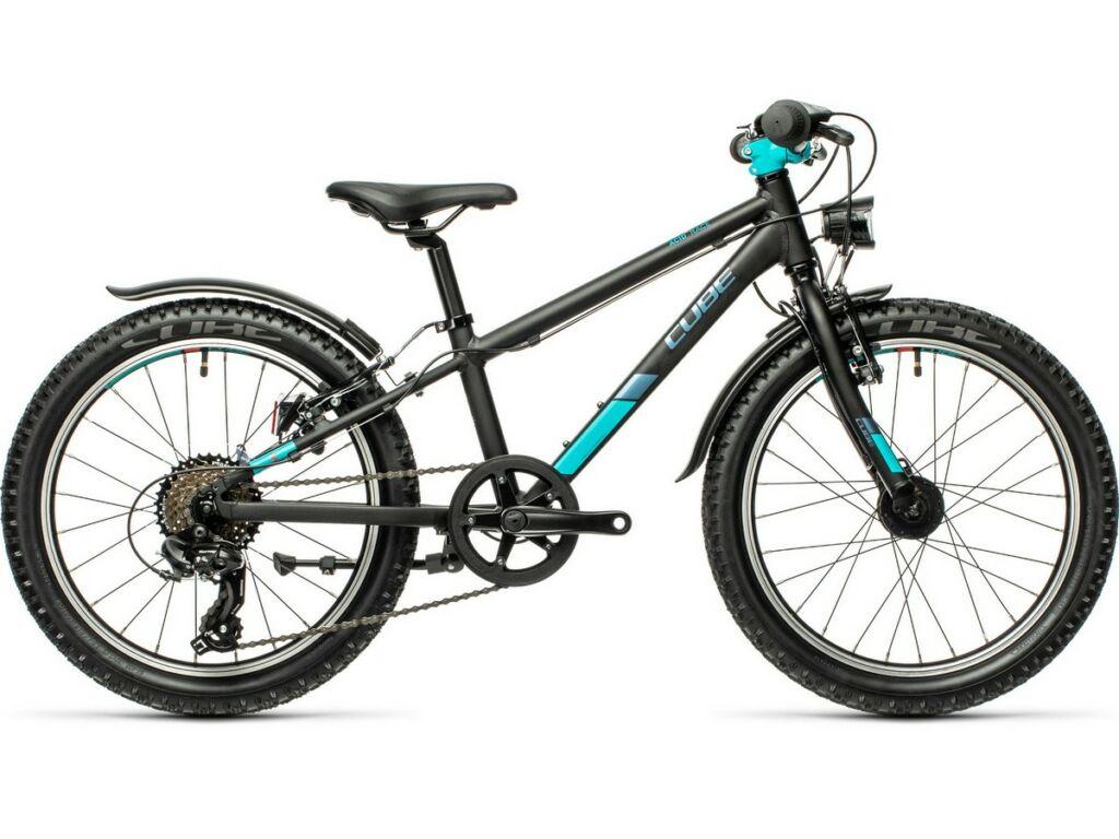 """Cube Acid 200 Allroad 2021 20"""" gyermek MTB kerékpár, black'n'mint"""