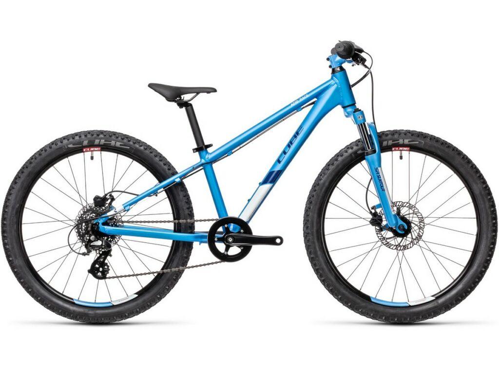 """Cube Acid 200 Disc 2021 20"""" gyermek MTB kerékpár, blue'n'coral"""
