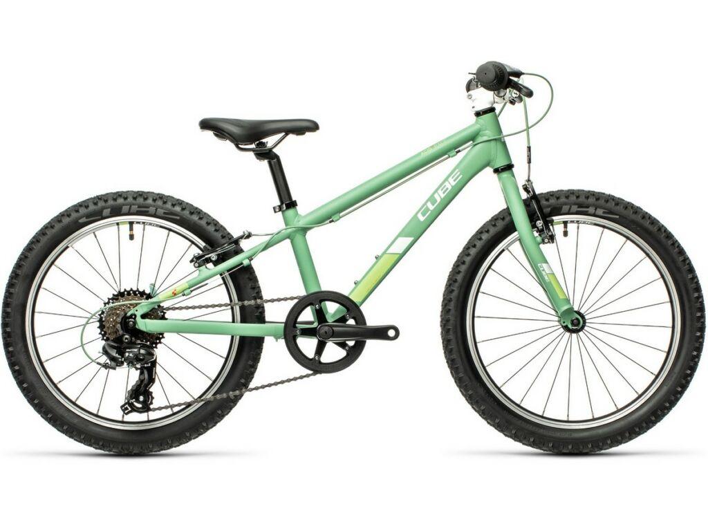 """Cube Acid 200 2021 20"""" gyermek MTB kerékpár, green'n'white"""