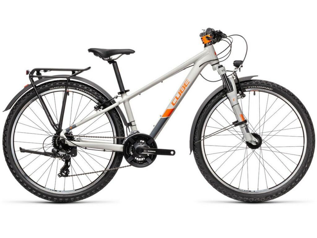 """Cube Acid 260 Allroad 2021 24"""" gyermek MTB kerékpár, grey'n'orange"""