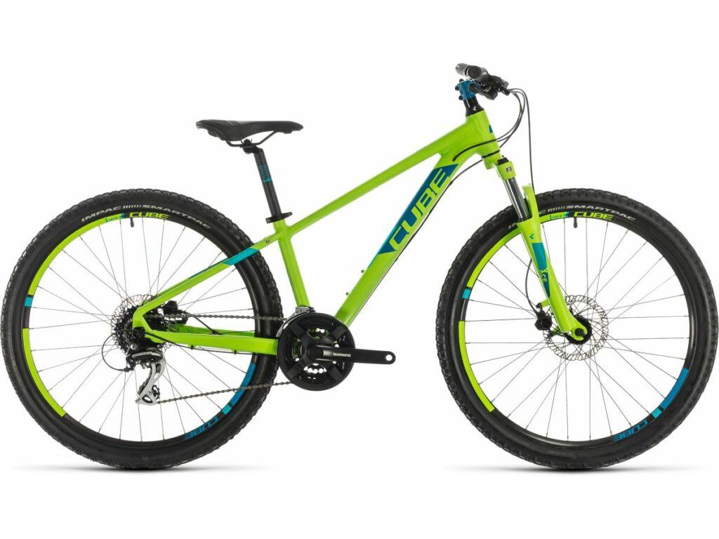 """Cube Acid 260 Disc 2020 26"""" gyermek MTB kerékpár, green'n'blue"""
