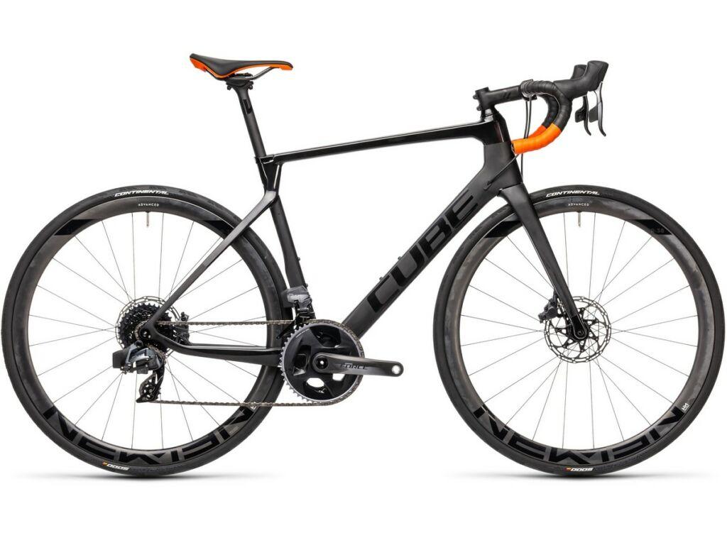 Cube Agree C:62 SLT 2021 országúti kerékpár, carbon'n'orange