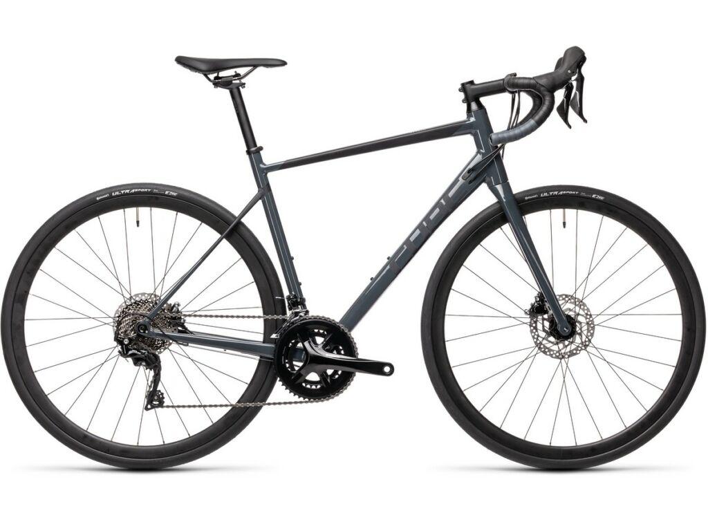 Cube Attain SL 2021 országúti kerékpár, grey'n'black