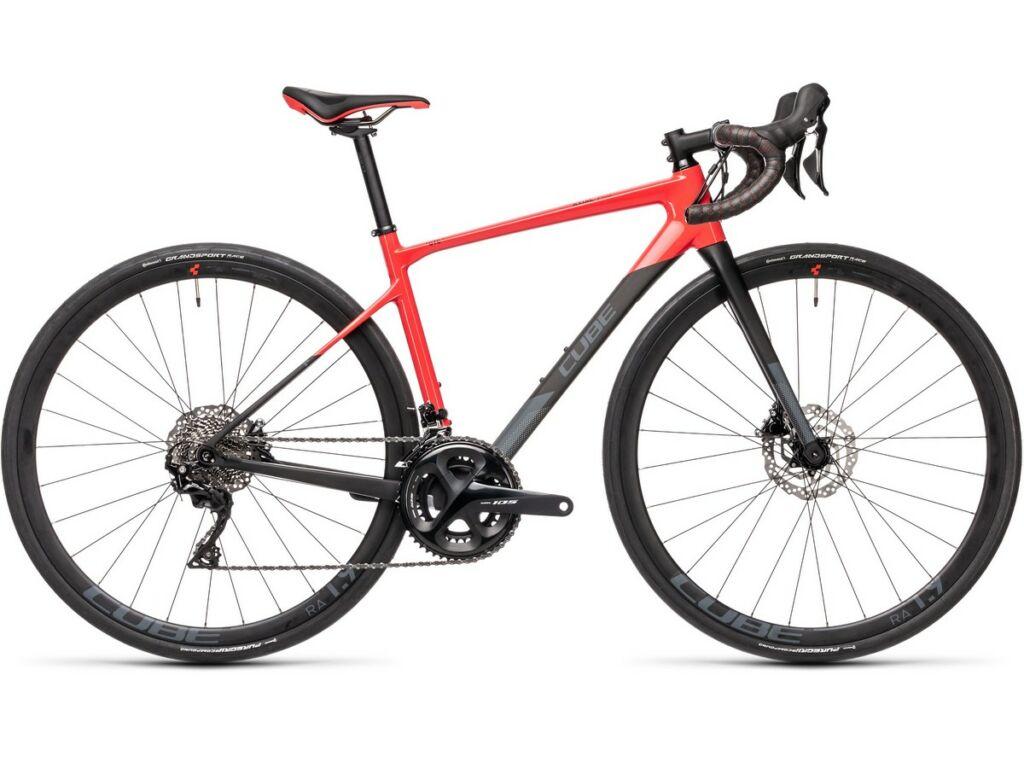 """Cube Axial WS GTC Pro 2021 28"""" női országúti kerékpár, carbon'n'coral"""