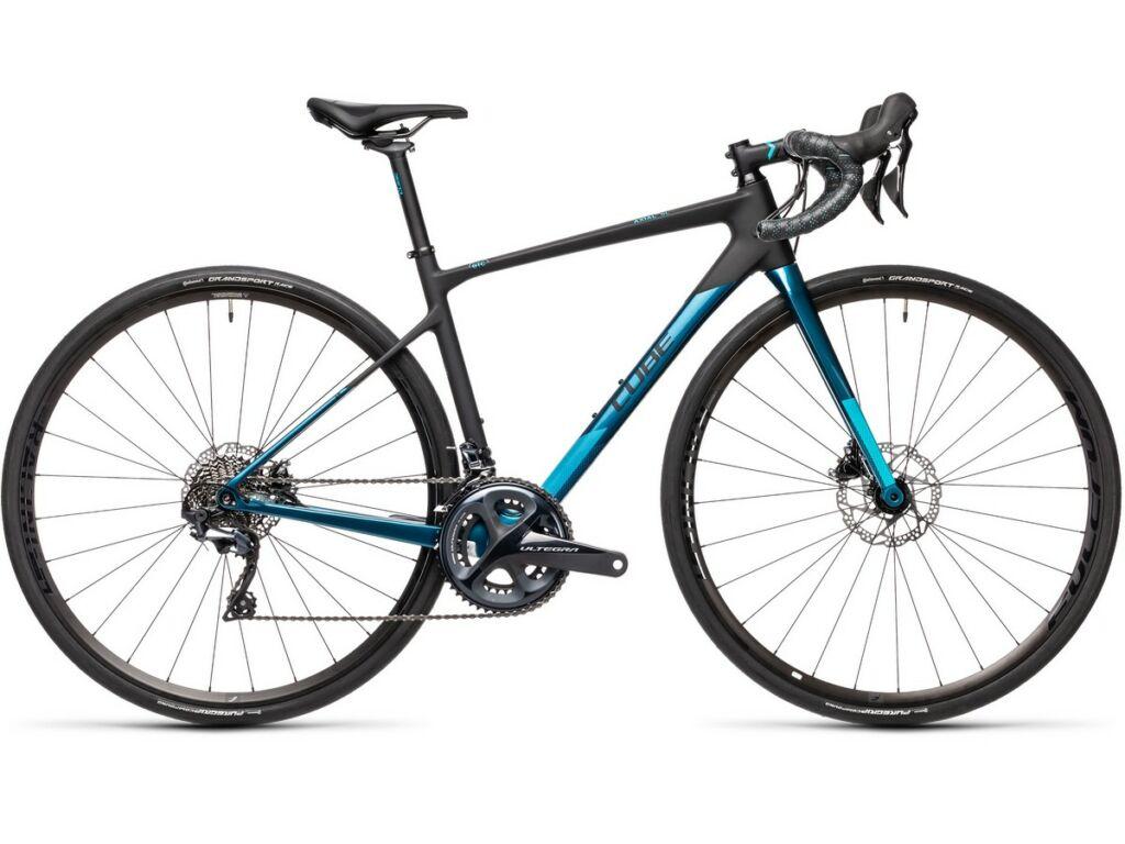 """Cube Axial WS GTC SL 2021 28"""" női országúti kerékpár, carbon'n'pagodablue"""