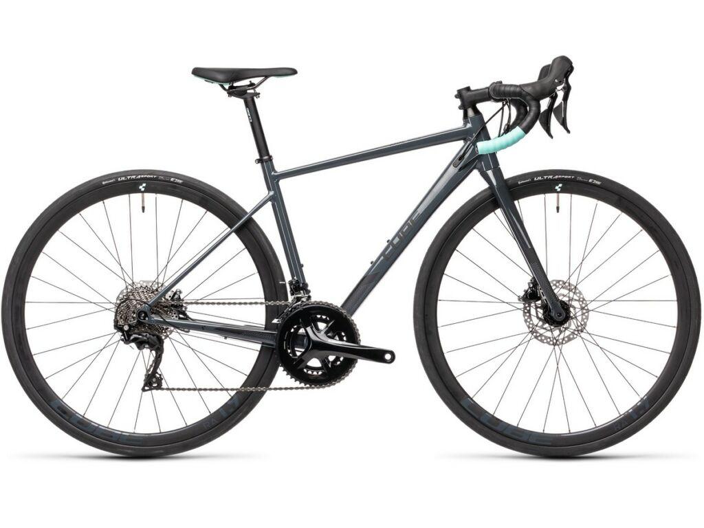 """Cube Axial WS Race 2021 28"""" női országúti kerékpár, grey'n'mint"""