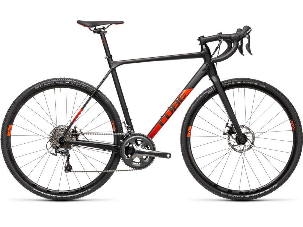 Cube Cross Race 2021 cyclocross kerékpár, black'n'red