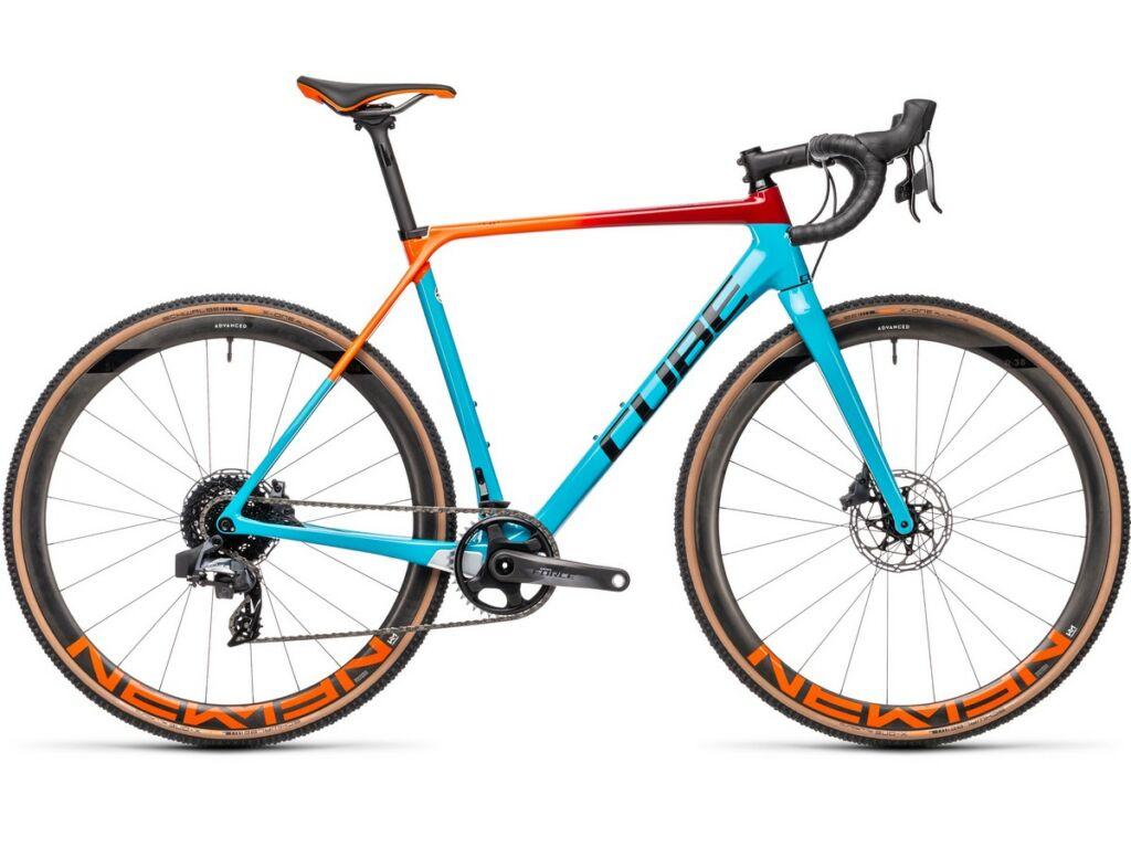 Cube Cross Race C:62 SLT 2021 cyclocross kerékpár, blue'n'redfading