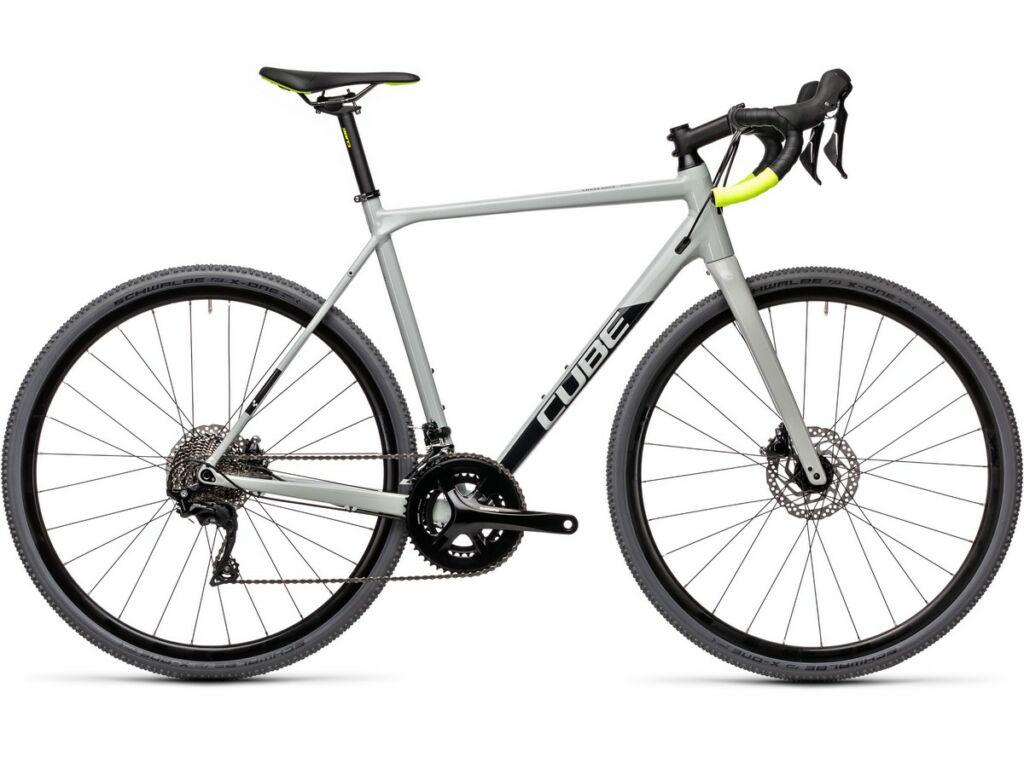 Cube Cross Race Pro 2021 cyclocross kerékpár, grey'n'flashyellow