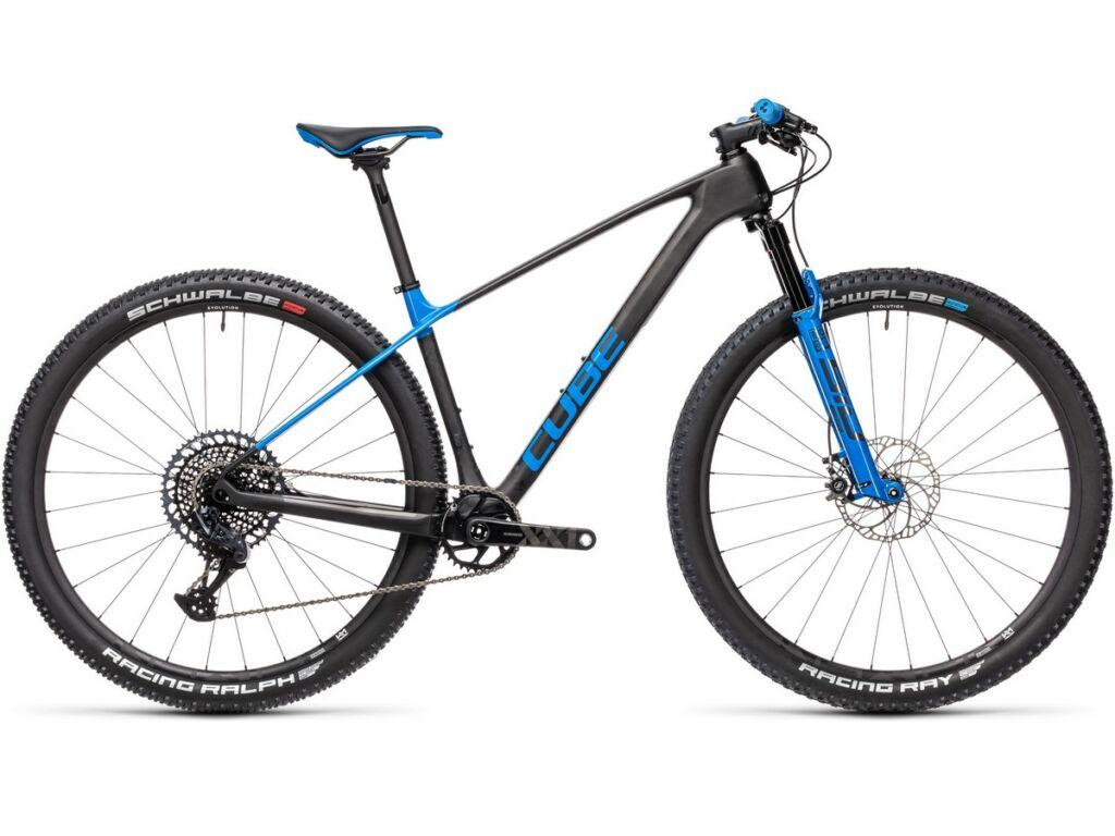 "Cube Elite C:68X Race 2021 29"" MTB hardtail kerékpár, carbon'n'blue"