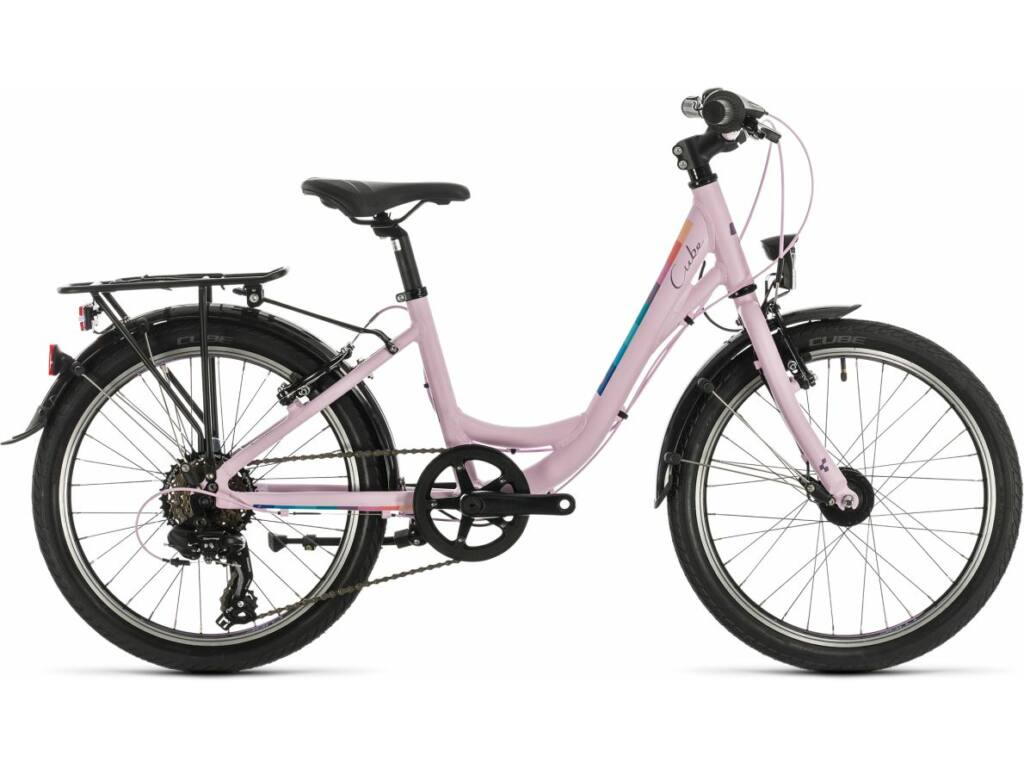 """Cube Ella 200 2020 20"""" gyermek városi kerékpár, rose"""