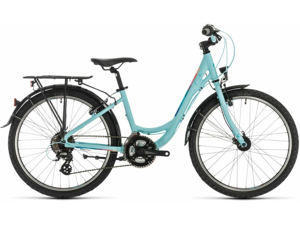 """Cube Ella 240 2020 24"""" gyermek városi kerékpár, lightblue"""
