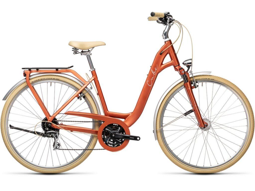 Cube Ella Ride 2021 Easy Entry trekking kerékpár, red'n'grey
