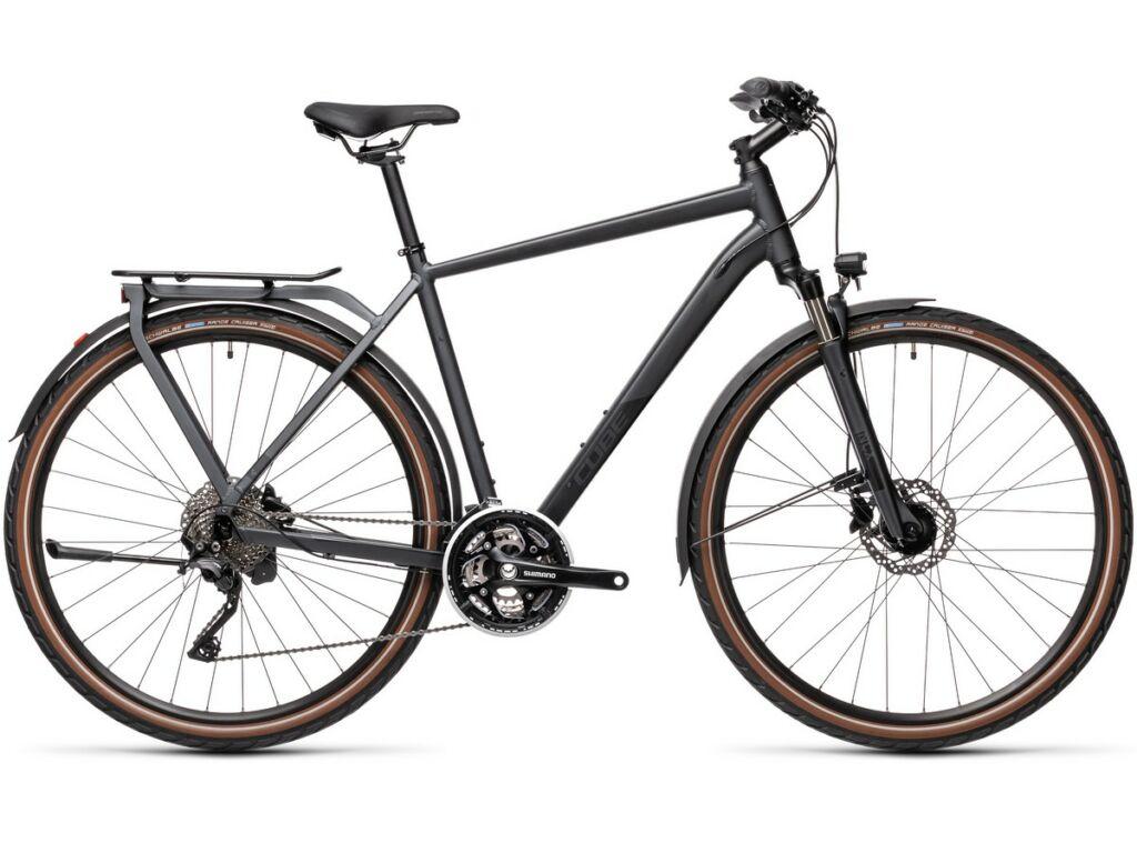 Cube Kathmandu Pro 2021 Men férfi túra kerékpár, iridium'n'black