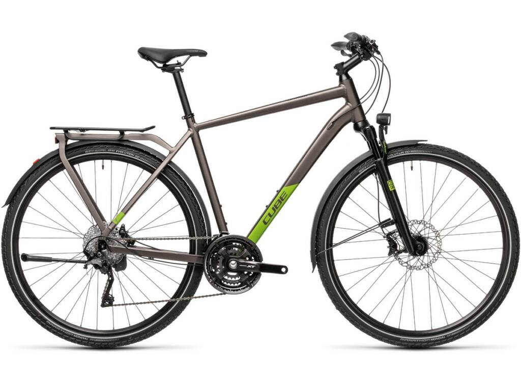 Cube Kathmandu SL 2021 Men férfi túra kerékpár, teak'n'green