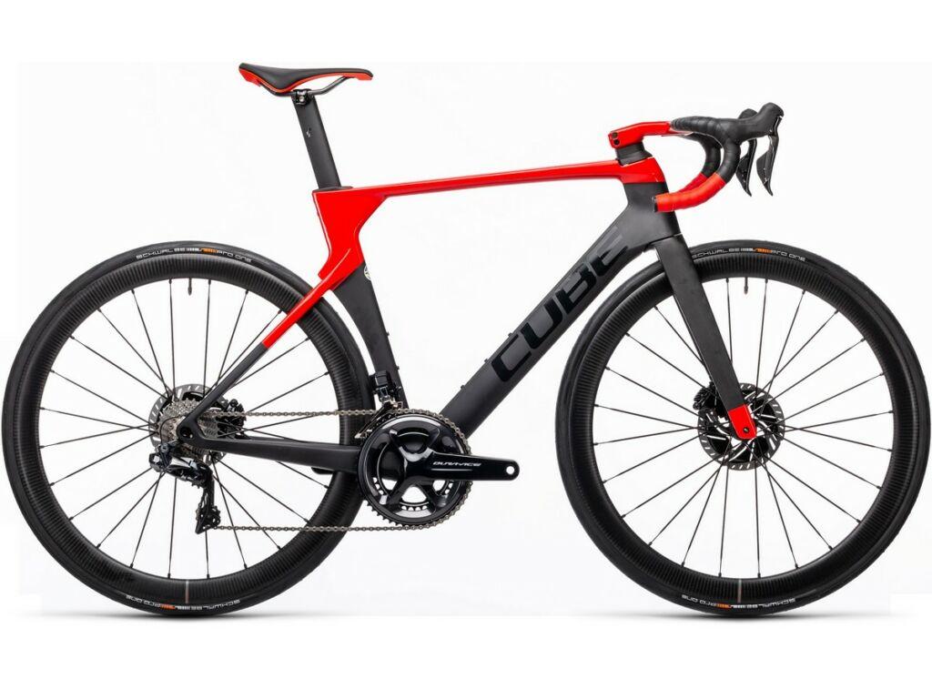 Cube Litening C:68X SL 2021 országúti kerékpár, carbon'n'red