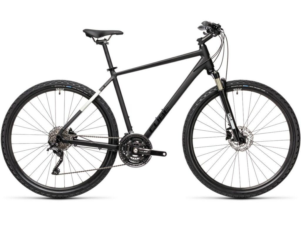 Cube Nature EXC 2021 Men férfi trekking kerékpár, black'n'grey