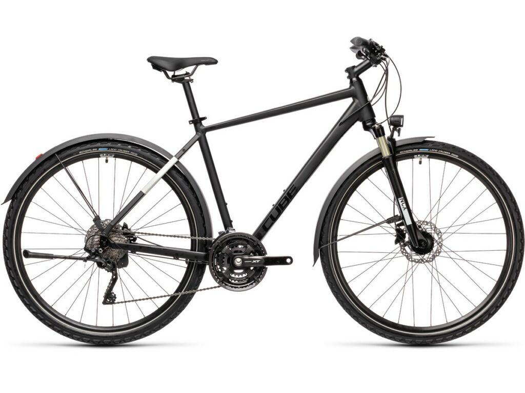 Cube Nature EXC Allroad 2021 Men férfi trekking kerékpár, black'n'grey