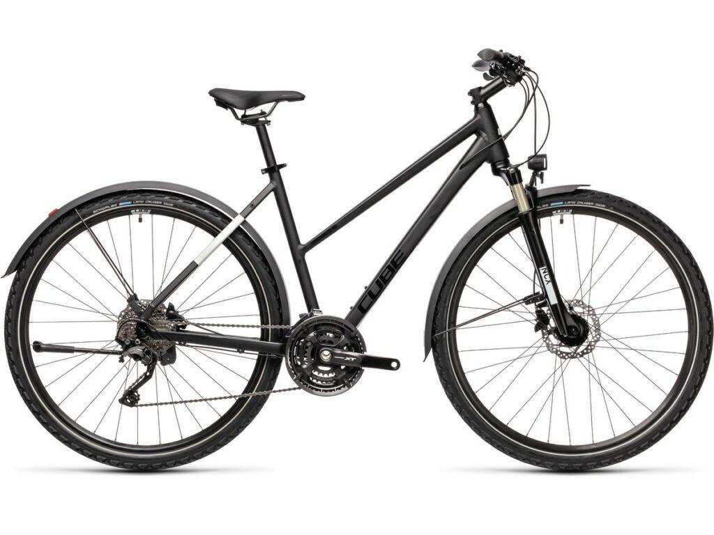 Cube Nature EXC Allroad 2021 Trapeze női trekking kerékpár, black'n'grey