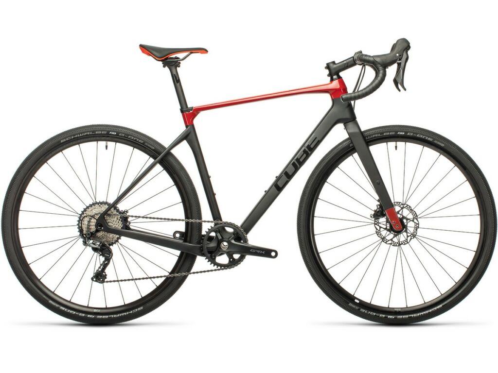Cube Nuroad C:62 Pro 2021 gravel kerékpár, carbon'n'red