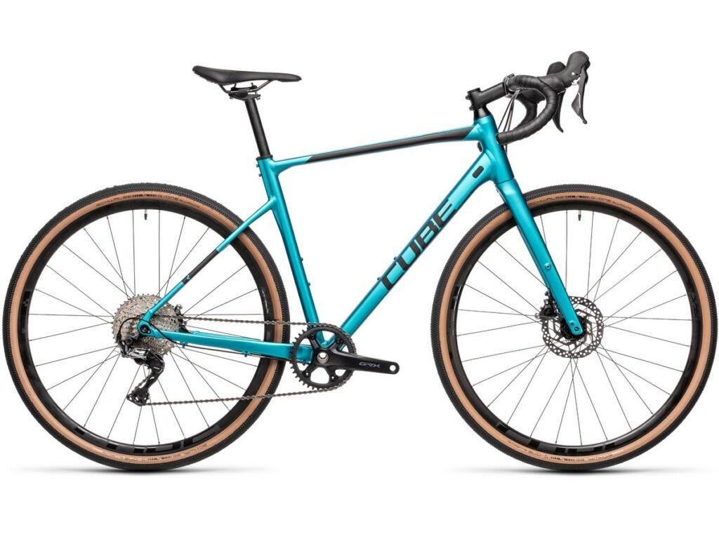 Cube Nuroad EX 2021 gravel kerékpár, flashpetrol'n'black