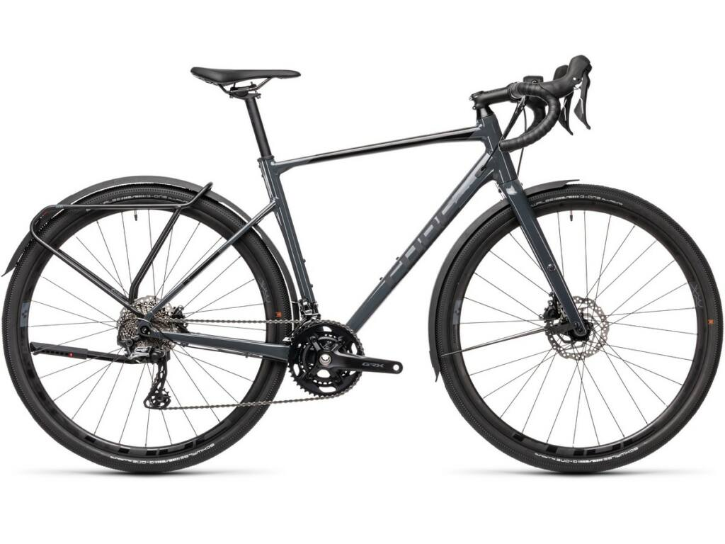 Cube Nuroad Race FE 2021 gravel kerékpár, grey'n'black