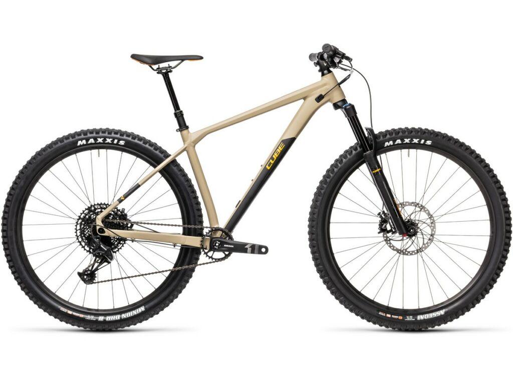 "Cube Reaction TM 2021 29"" MTB hardtail kerékpár, desert'n'orange"