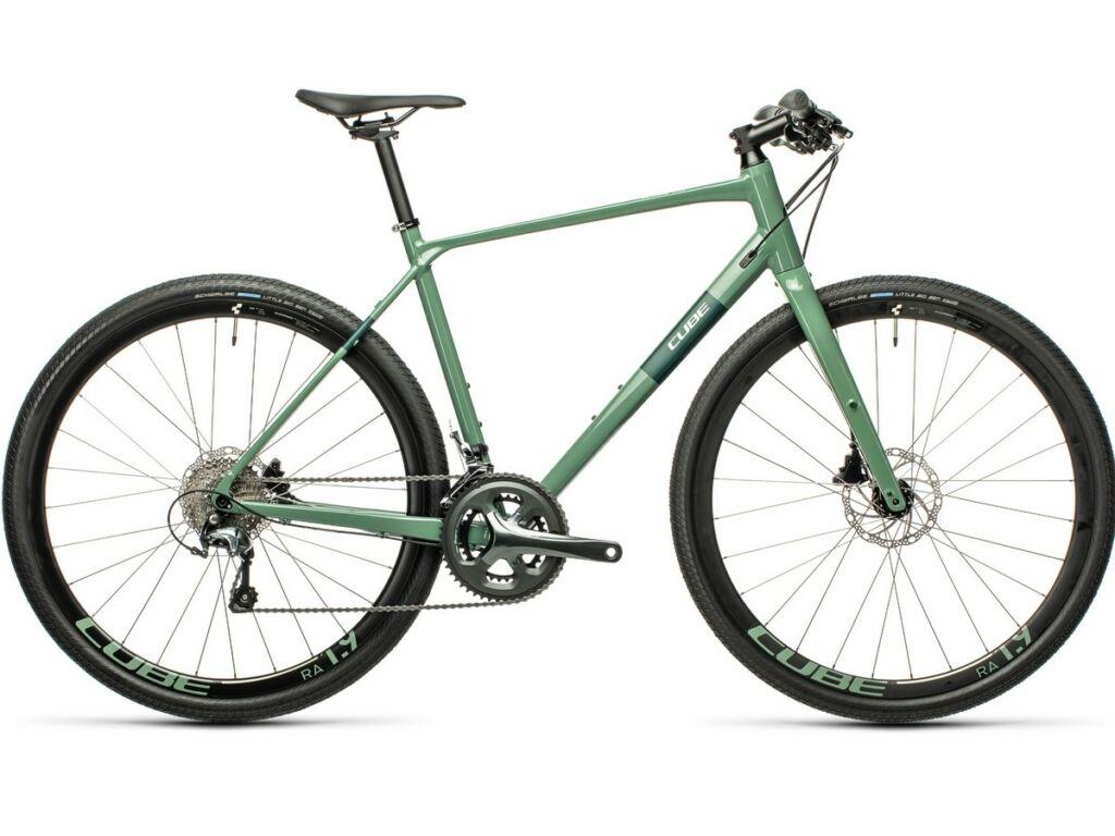 """Cube SL Road Pro 2021 Men 28"""" férfi országúti kerékpár, greygreen'n'green"""
