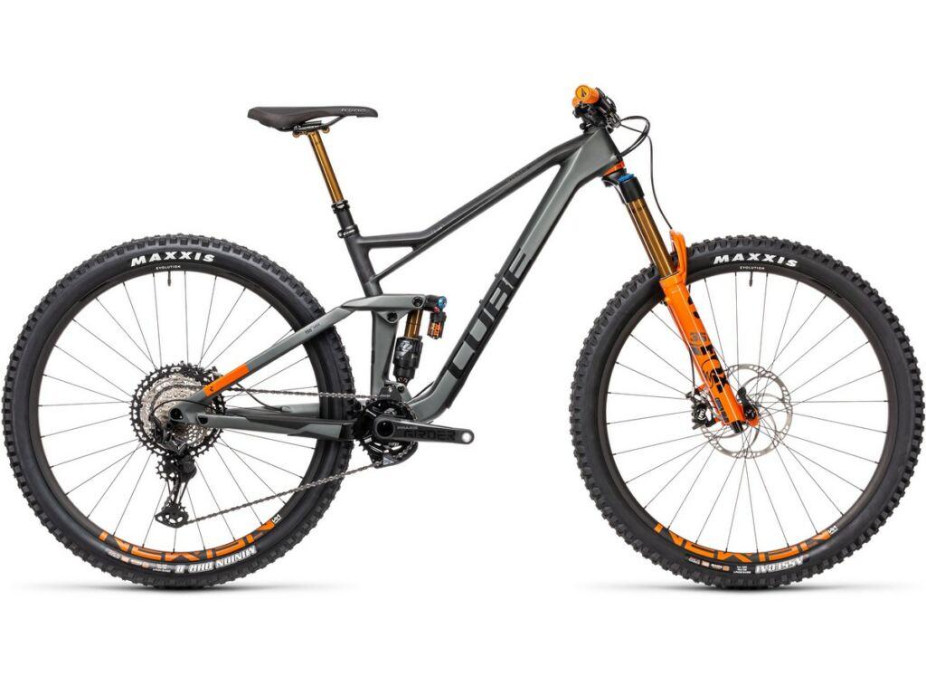 "Cube Stereo 150 C:68 TM 29 2021 29"" MTB fully kerékpár, flashgrey'n'orange"