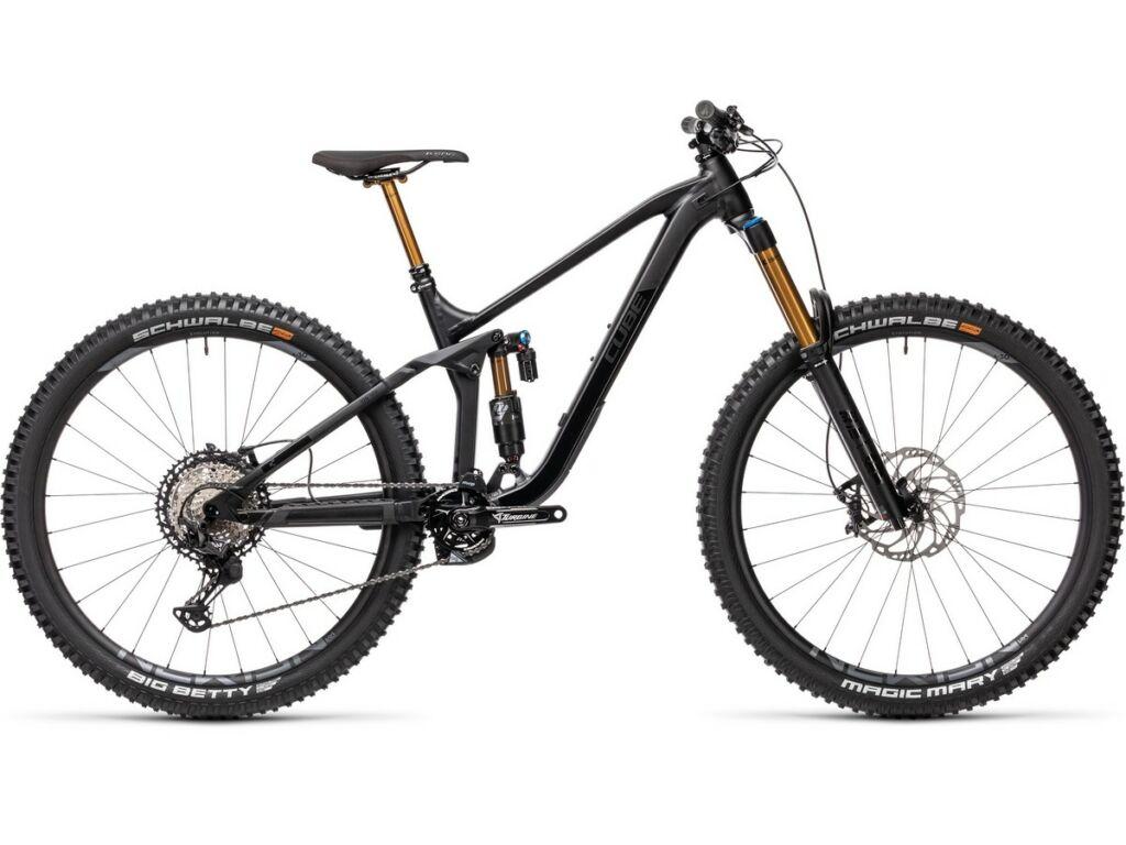 """Cube Stereo 170 SL 29 2021 29"""" MTB fully kerékpár, black anonized"""