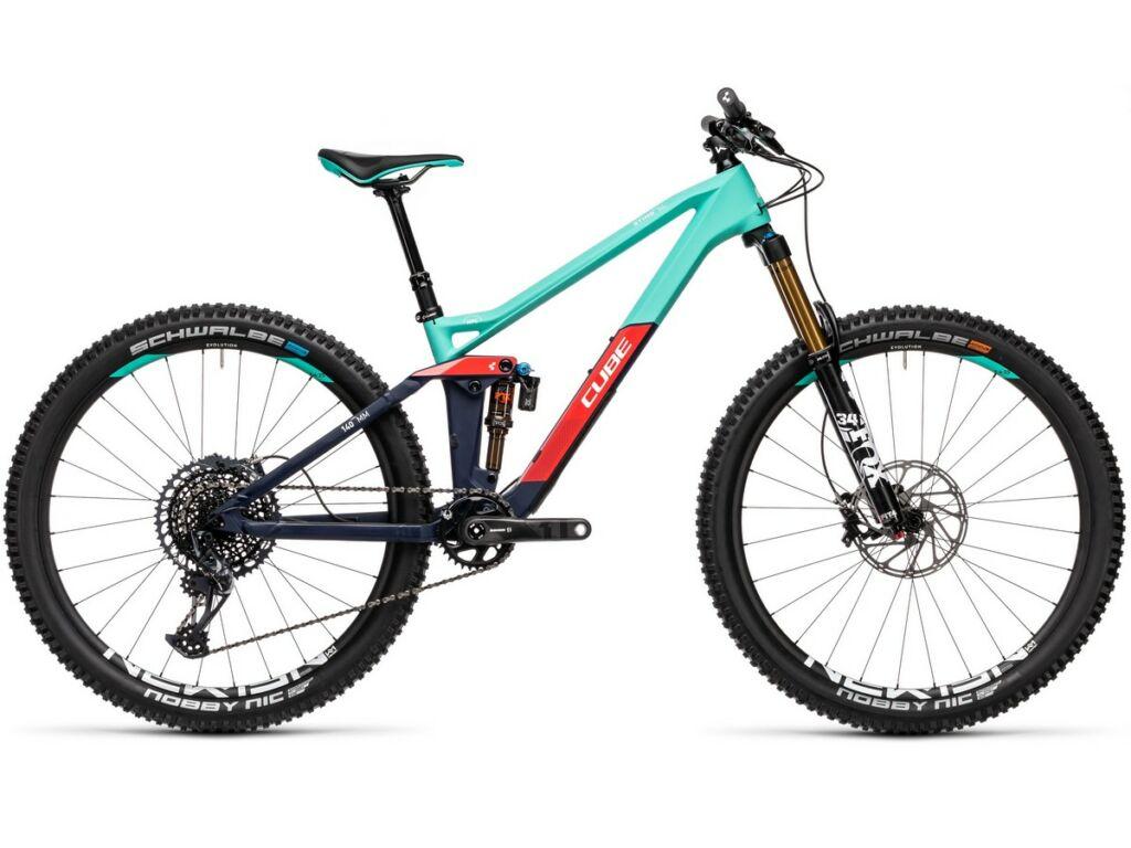 "Cube Sting WS 140 HPC SL 2021 27.5"" női MTB fully kerékpár, team ws"