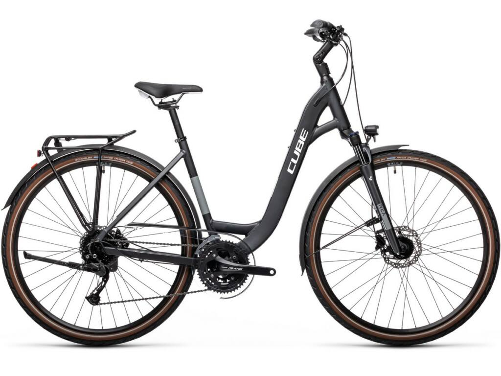 Cube Touring EXC 2021 Easy Entry túra / trekking kerékpár, iridium'n'white