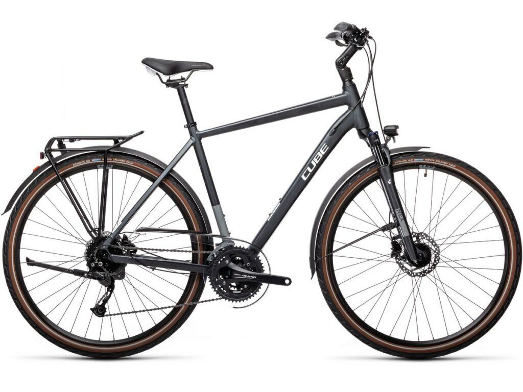 Cube Touring EXC 2021 Men férfi túra / trekking kerékpár, iridium'n'white