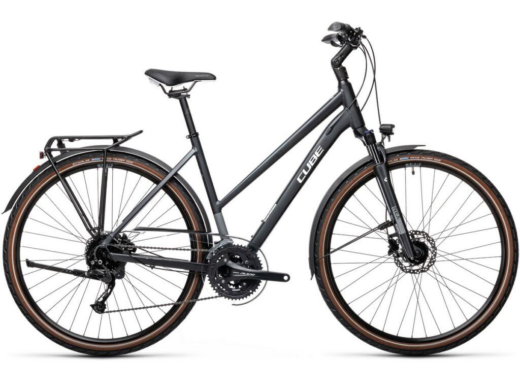Cube Touring EXC 2021 Trapeze női túra / trekking kerékpár, iridium'n'white