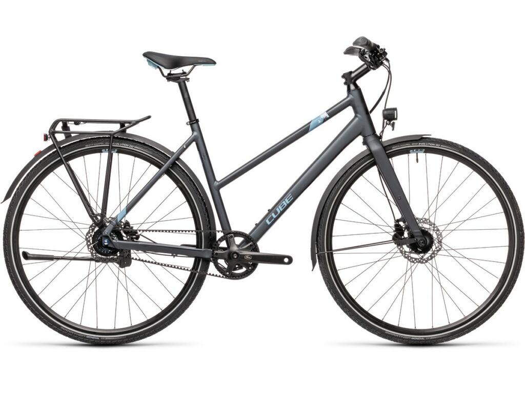 Cube Travel Exc 2021 Trapeze női túra / trekking kerékpár, iridium'n'blue