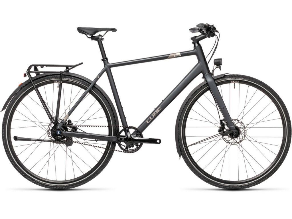 Cube Travel SL 2021 Men férfi túra / trekking kerékpár, iridium'n'silver