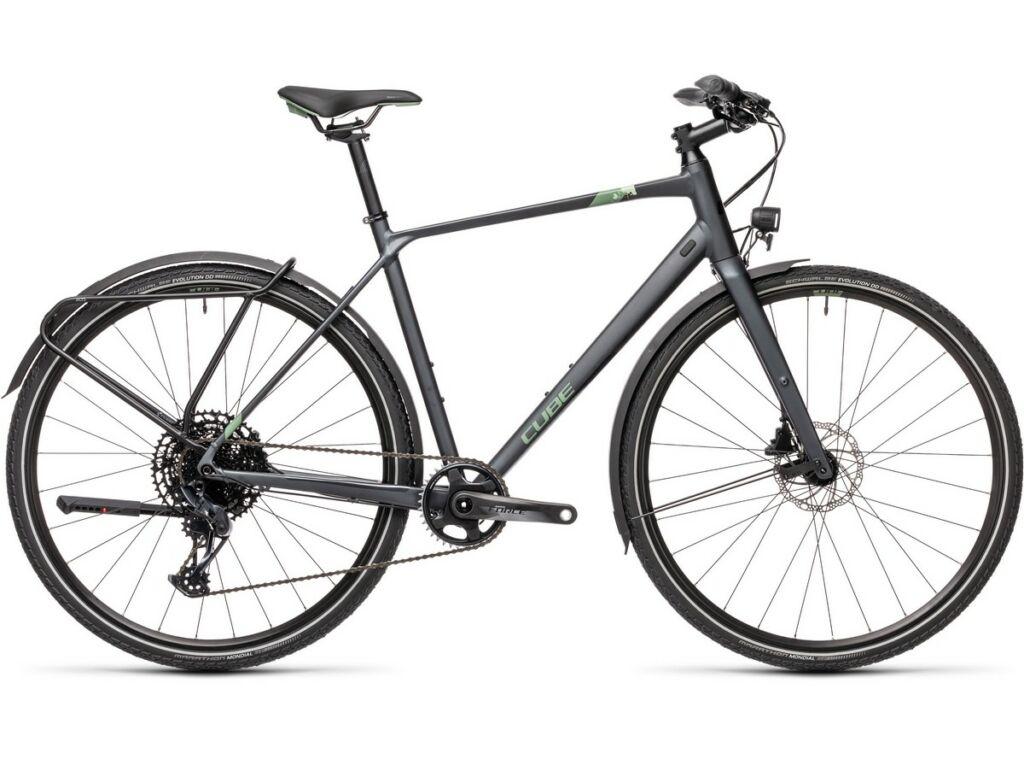 Cube Travel Sport 2021 Men férfi túra / trekking kerékpár, iridium'n'green