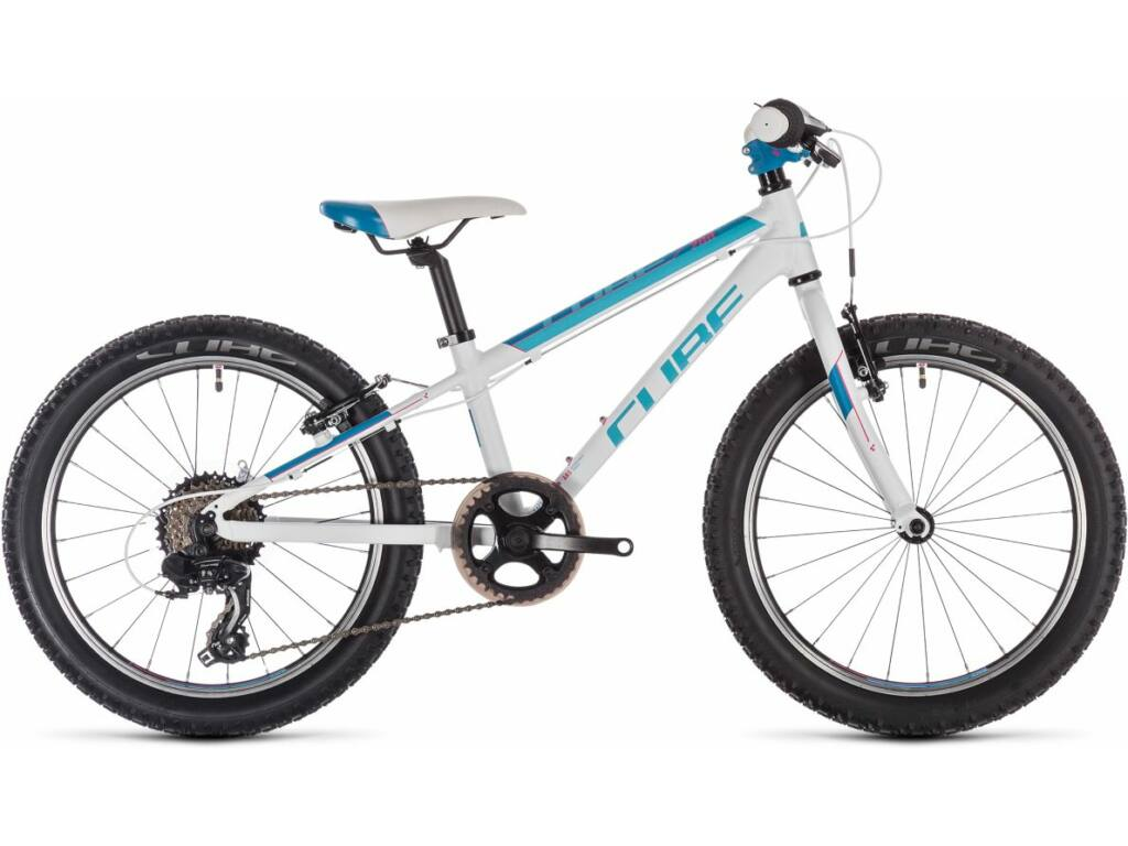 "Cube Access 200 2020 20"" MTB kerékpár, white'n'blue'n'pink, 20"""
