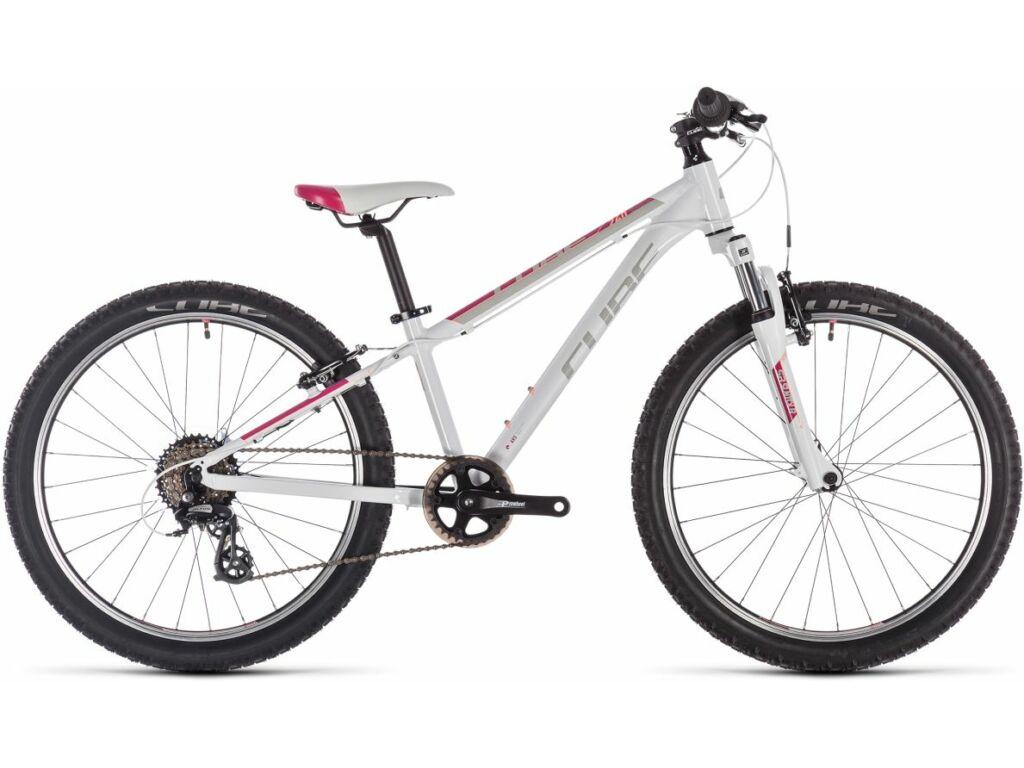 """Cube Access 240 2020 24"""" MTB kerékpár, white'n'red'n'coral, 24"""""""