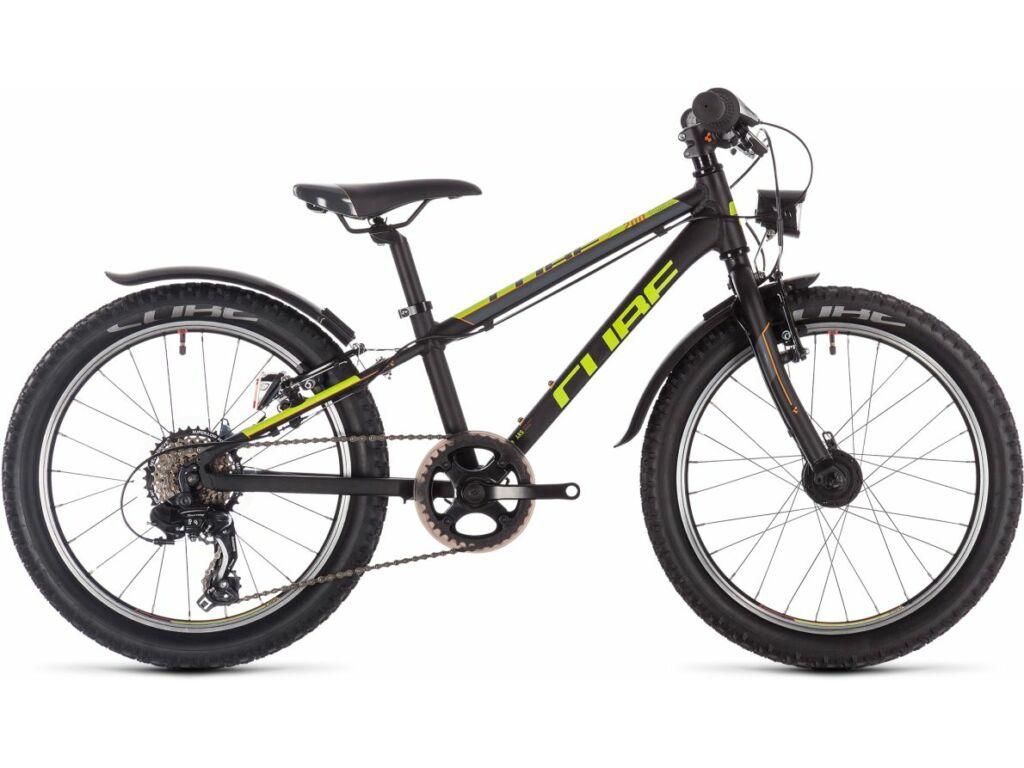 "Cube Acid 200 Allroad 2020 20"" MTB kerékpár, black'n'yellow'n'orange, 20"""