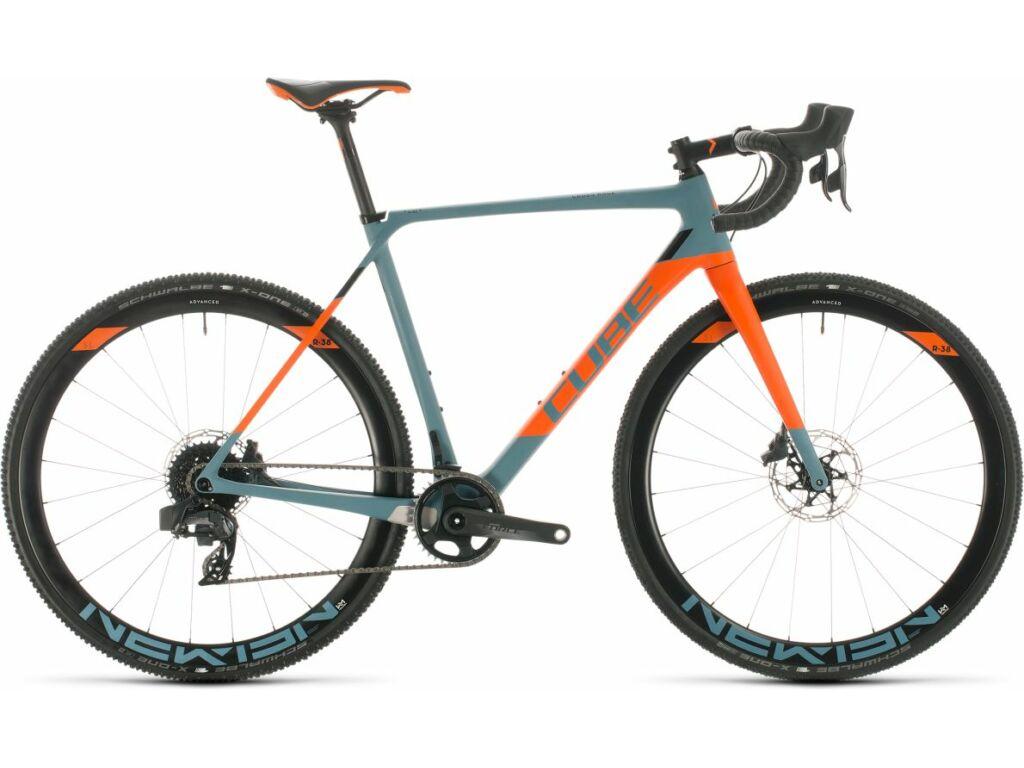 Cube Cross Race C:62 SLT 2020 cyclocross kerékpár, bluegrey'n'orange, 50