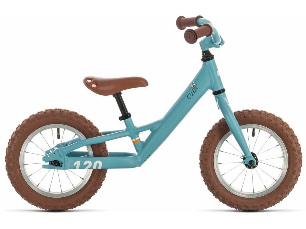 """Cube Cubie 120 walk girl 2020 lány gyermek tanuló kerékpár, lightblue'n'white, 12"""""""