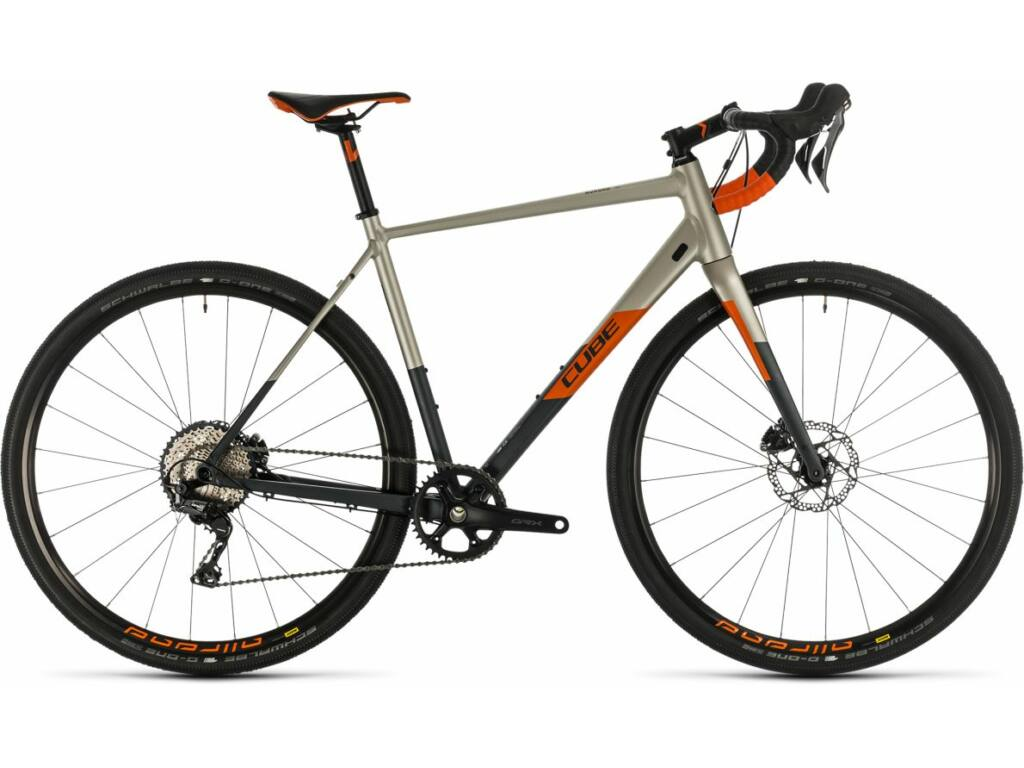 Cube Nuroad SL titanium'n'orange 2020 országúti kerékpár