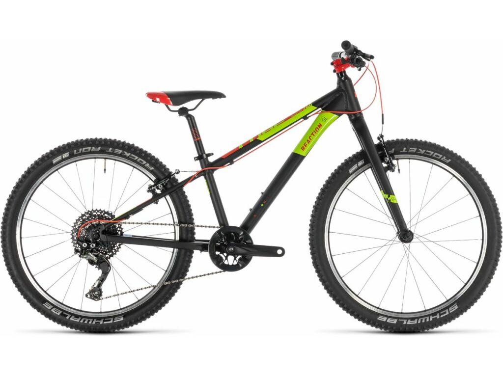 "Cube Reaction 240 SL 2020 24"" MTB kerékpár, red'n'green'n'black, 24"""