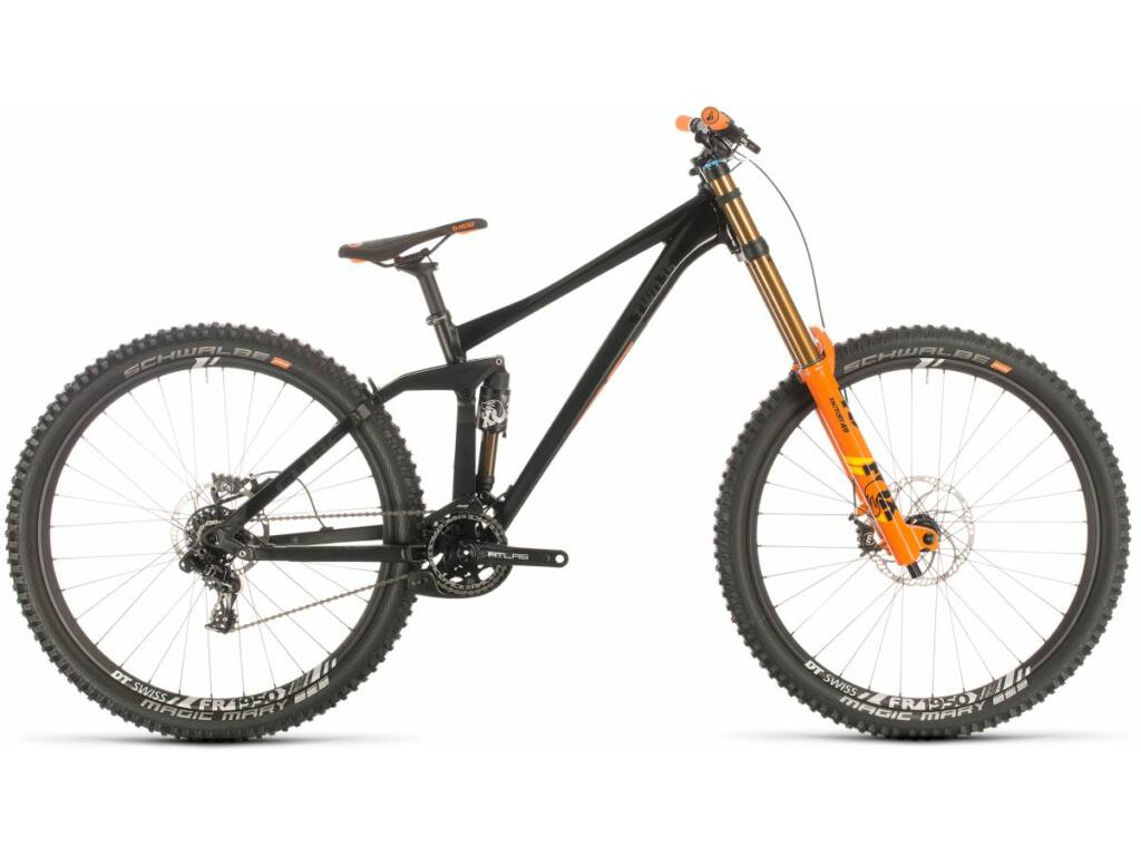 "Cube TWO15 SL 2020 27.5"" MTB fully kerékpár, black'n'orange, M"