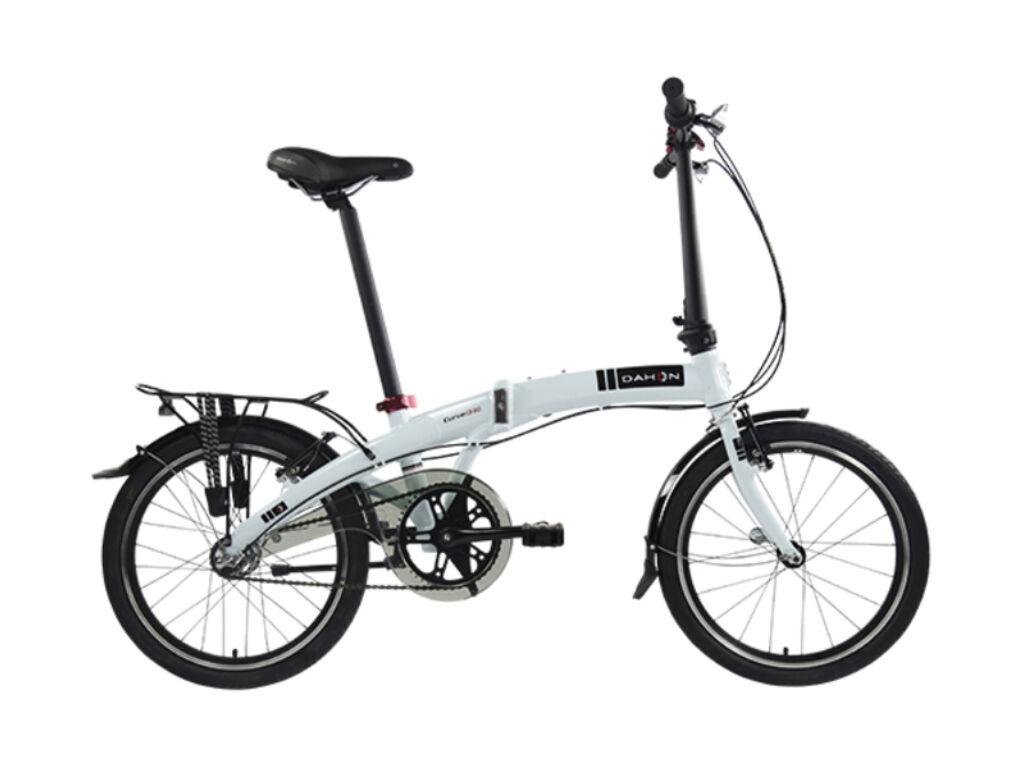 Dahon Curve i3 folding / összecsukható városi kerékpár, ezüst / fehér