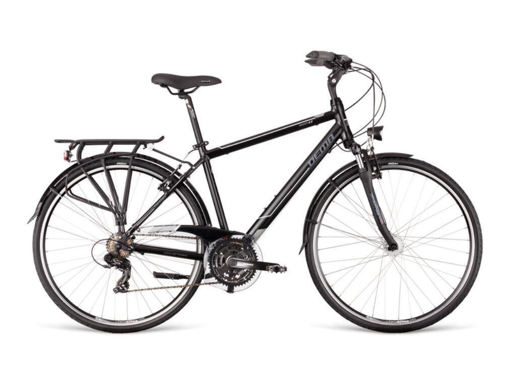 Dema AROSA 2.0 Dynamo férfi túra kerékpár, szürke / fehér